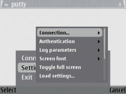 Running the PuTTY SSH Client on a Nokia E61 - Help Net Security
